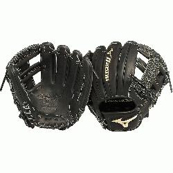 zuno GGE61VBK Global Elite VOP 11.5 in Infield Baseball Glove (Right Handed Throw) :