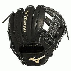 GGE61VBK Global Elite VOP 11.5 in Infield Baseball Glove (Right Handed Throw) : Mizuno vibratio