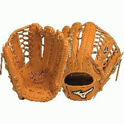 zuno GGE71V Global Elite VOP 12.75 in Outfield Baseball Glove (Left Handed Throw) : Mizu