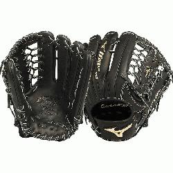 zuno GGE71VBK Global Elite VOP 12.75 Outfield Baseball Glove (Right Handed Throw) : Mizuno vibratio