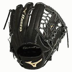 izuno GGE71VBK Global Elite VOP 12.75 Outfield Baseball Glove (Right Handed Throw) : Mizuno vib