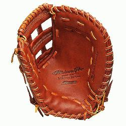 LImited First Base Mitt (Right Handed Throw) : Made from the finest leathers, Mizunos mi
