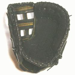 is a 13.00-Inch Pro sized first basemens mitt made f