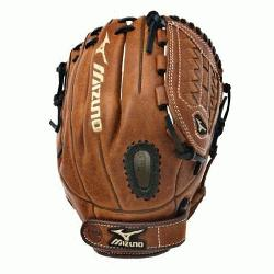ed, Bio Throwback leather for game ready performance and long lasting durability. Center Pocket des