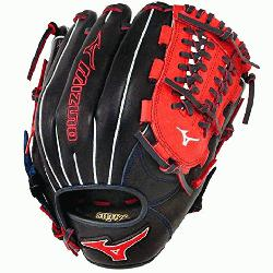 GMVP1177PSE3 Baseball Glove 11.75 inch (Navy-Red, Right Hand Th