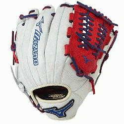 P1177PSE3 Baseball Glove 11.75 inch (Silver-Red-Royal, Right Hand Throw) :