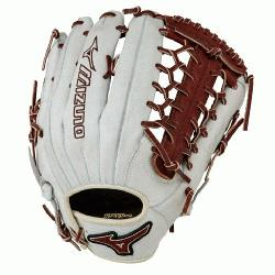 izuno GMVP1277PSE3 MVP Prime Baseball Glove 12.75 inch (Silver-Brown, Right Hand T