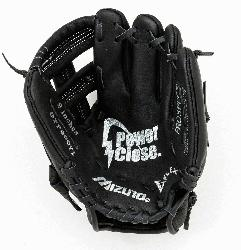 Prospect series baseball gloves have patent pending heel flex technol
