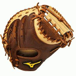 Mizuno Classic Pro Soft Catchers Mitt 33.5 inch. Throwback Leather that is rugged, rich