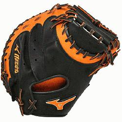uno GXC50PSE3 Catchers Mitt 34 inch MVP Prime (Black-Orange, Right Hand Throw) : P
