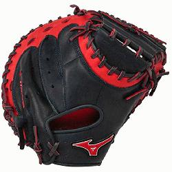 GXC50PSE3 Catchers Mitt 34 inch MVP Prime (Navy-Red, Right Hand Th