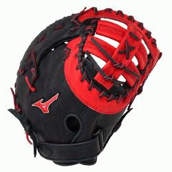 MVP Prime First Base Mitt 13 inch (Navy-Red, Right