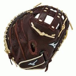 34 Inch Fastpitch Catchers Model. Closed Back. PowerLock Wrist Closure Pre-Oi