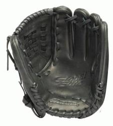 is a 12.00 pitchers glove made from Steersof