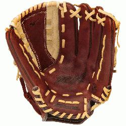 pitch Glove Features: Center Pocket Designed Patterns BioThrowback Leather U