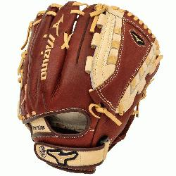 hrowback Leather Soft pebbled leather for game ready performance and long br l