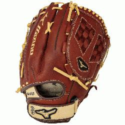 oThrowback Leather Soft pebbled leather for game ready performance and long br lasting durability.