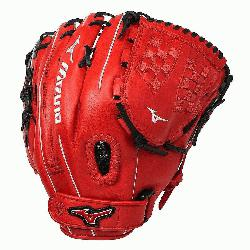 e MVP Prime SE fastpitch softball series gloves feature a Center Pocket Desig