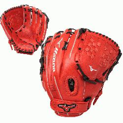 fastpitch softball series gloves feature a Center Pocket Designed Pat