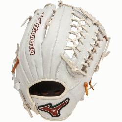E GMVP1277PSE2 Outfield Baseball Glove (SilverBrown, Right Handed Throw) : Mizuno MVP Prime