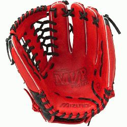 Mizuno MVP Prime special edition ball glove features a new design with center pocket designed p