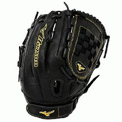 Mizuno softball glove. Smooth, professional style oil soft plus leather is the perfect balance of