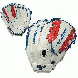 SE fastpitch softball series gloves feature a Center Pocket Designed Pattern that n