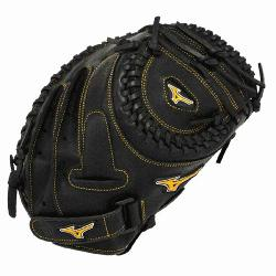 The Mizuno GXS50PF1 MVP Prime fast pitch catchers mitt is made with Professional