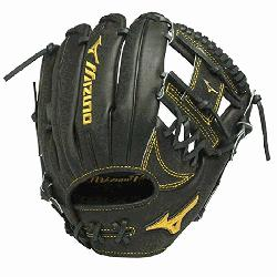GMP500AXBK Baseball Glove 11.75 inch (Right Hand Throw) : Mizuno Pro Limited Ed