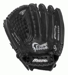 B is a 12.00 youth fastpitch glove that features multiple technologi