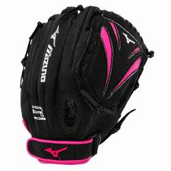 Mizuno Prospect Finch GPP1105F1 Youth Softball Glove. Patented PowerClose MAKES CATCHI