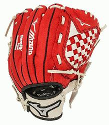 Mizuno Youth Prospect Series Baseball Gloves. Patented Power Close makes catching easy. Power loc