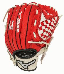 Mizuno Youth Prospect Series Baseball Gloves. Patented Power Close make