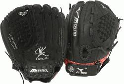 is a 11.50-Inch youth fastpitch glove that features multiple technol