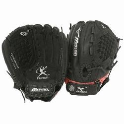 54 is a 11.50-Inch youth fastpitch glove that features multiple technologies to make it