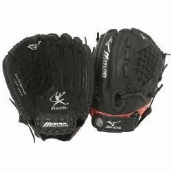 Mizuno GPP1154 is a 11.50-Inch youth fastpitch glove that