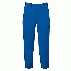elect Belted Low Rise Fastpitch Softball Pants Grey Size XS : 100% Pol