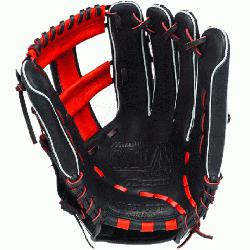 o Slowpitch GMVP1250PSES3 Softball Glove 12.5 inch (Navy-Red, Right Hand Throw) : Patent pend