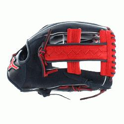 h GMVP1250PSES3 Softball Glove 12.5 inch (Navy-Red, Right Hand Throw) : Pa