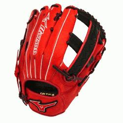 GMVP1250PSES3 Softball Glove 12.5 inch (Red-Black, Right Hand Throw) :
