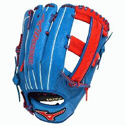 Mizuno Slowpitch GMVP1250PSES3 Softball Glove 12.5 inch (Royal-Red, Right Hand Throw) : Patent