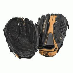 ormance, full-grain leather shell in softball specific p