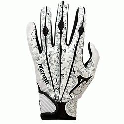 Pro Batting Gloves. Same design as worn by top professional players. Mizunos Sensor Point p