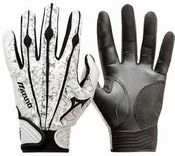 Mizuno Vintage Pro Batting Gloves. Same design as worn by top professional players.