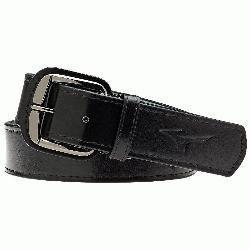 High grade youth baseball belt leather. Sig