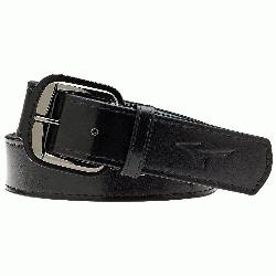 rade youth baseball belt leather. Signature Mizuno logo. Up to 31 inches. Mizuno Classic