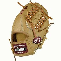 ican Legend Series AL-1150M Baseball Glove (Right Handed Throw) : A full Nokona Sandstone glove. Th