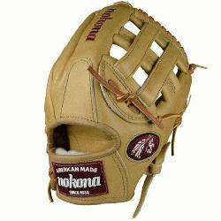 rican Legend AL-1175 H Web Baseball Glove (Right Handed Throw) : A full Nokona Sandstone glove. The