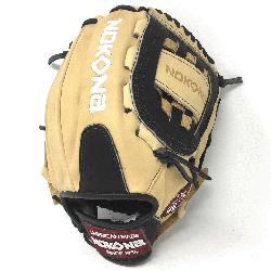 made of American Bison and Supersoft Steerhide leather combined in black and cream c