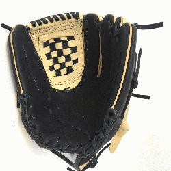ult Glove made of American Bison and Supersoft Steerhide leather combined in black and cre